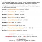 Fibromyalgia workshops