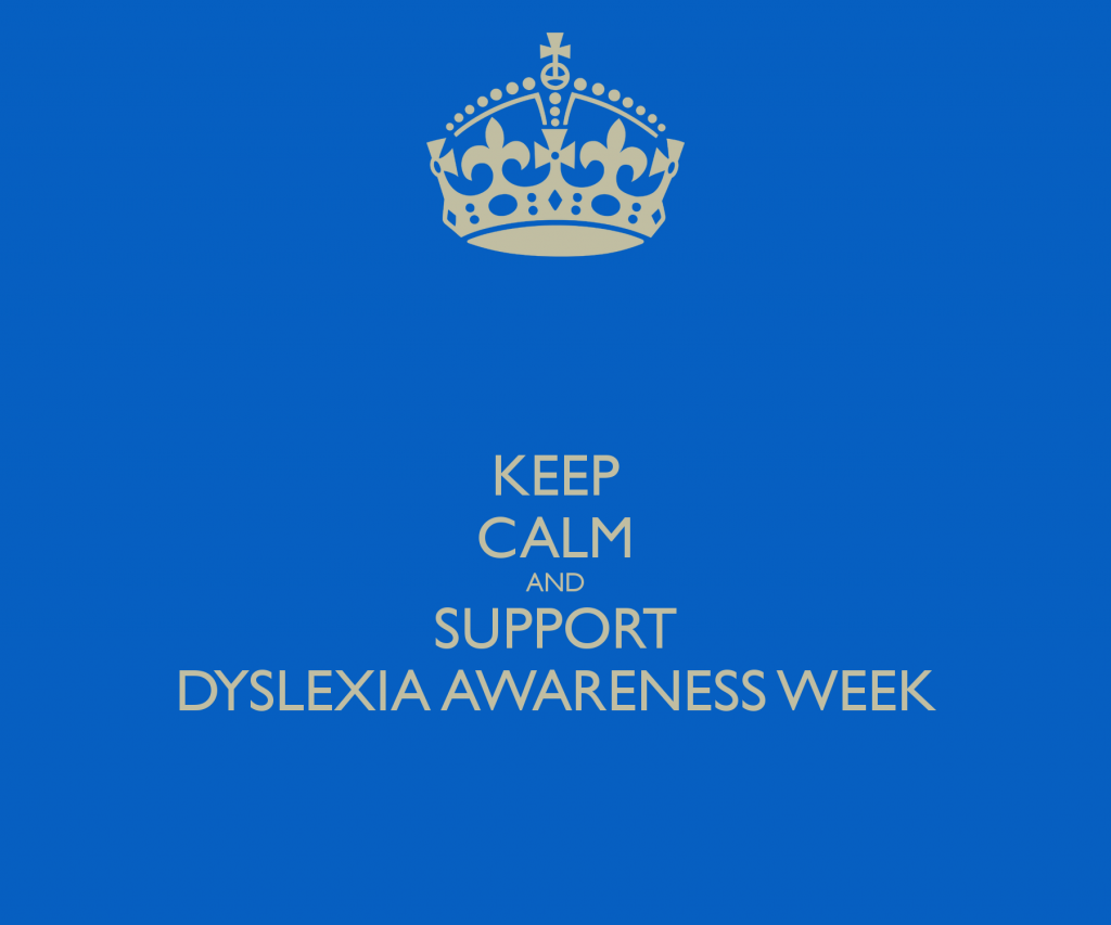 Dyslexia Awareness Week 2013