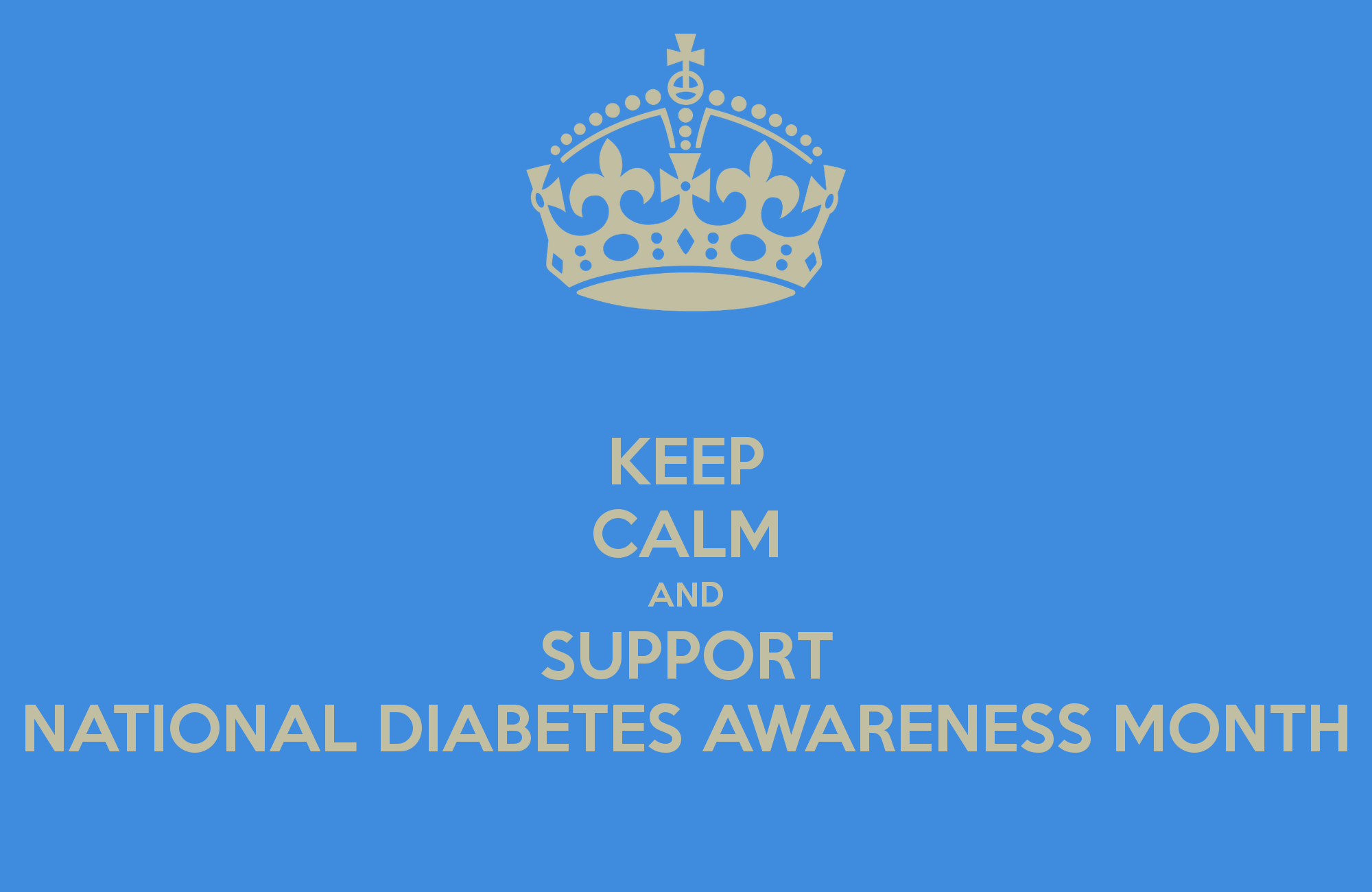 national diabetes awareness month please like and share this