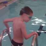A boy who developed autism