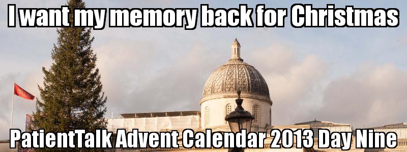 I want my memory back