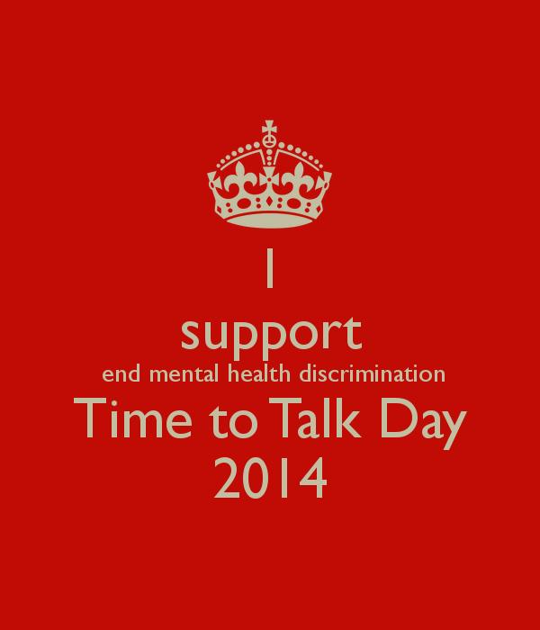 End mental health discrimination