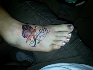 Multiple Sclerosis Tattoo from Stacey