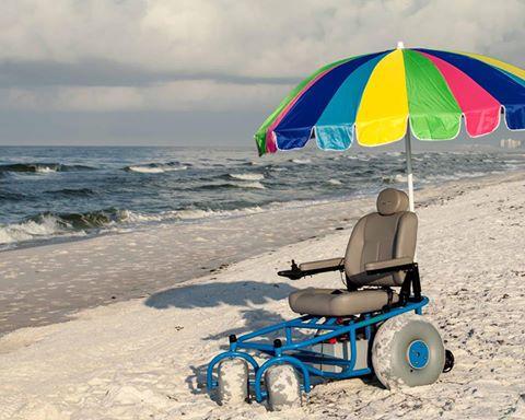 Beach freedom wheelchairs
