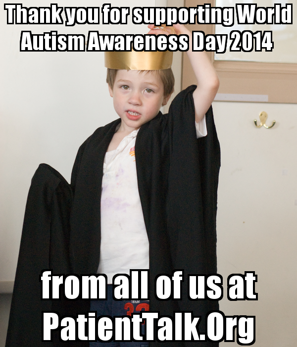 World Autism Awareness Day 2014 #WAAD