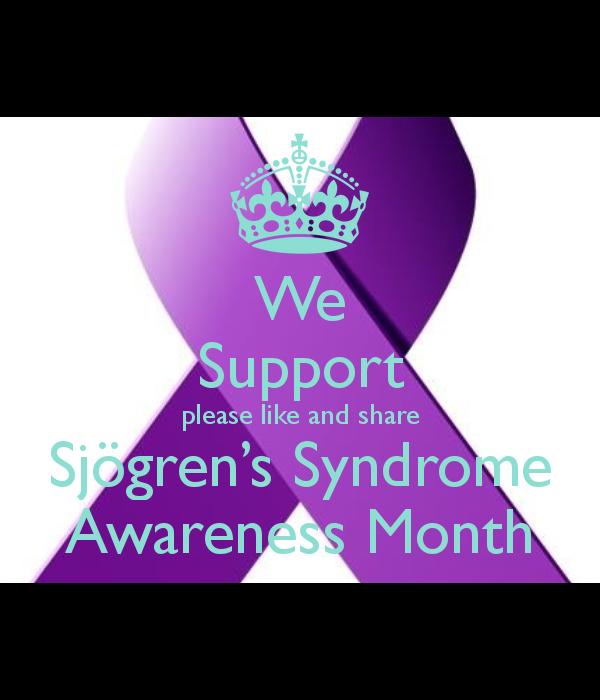 Sjögren's Syndrome Awareness Month