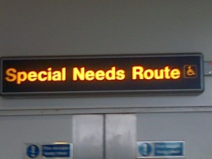 Special Needs Route