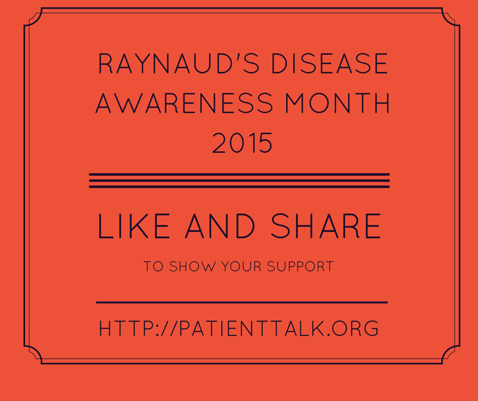 Raynaud's Disease Awareness Month 2015