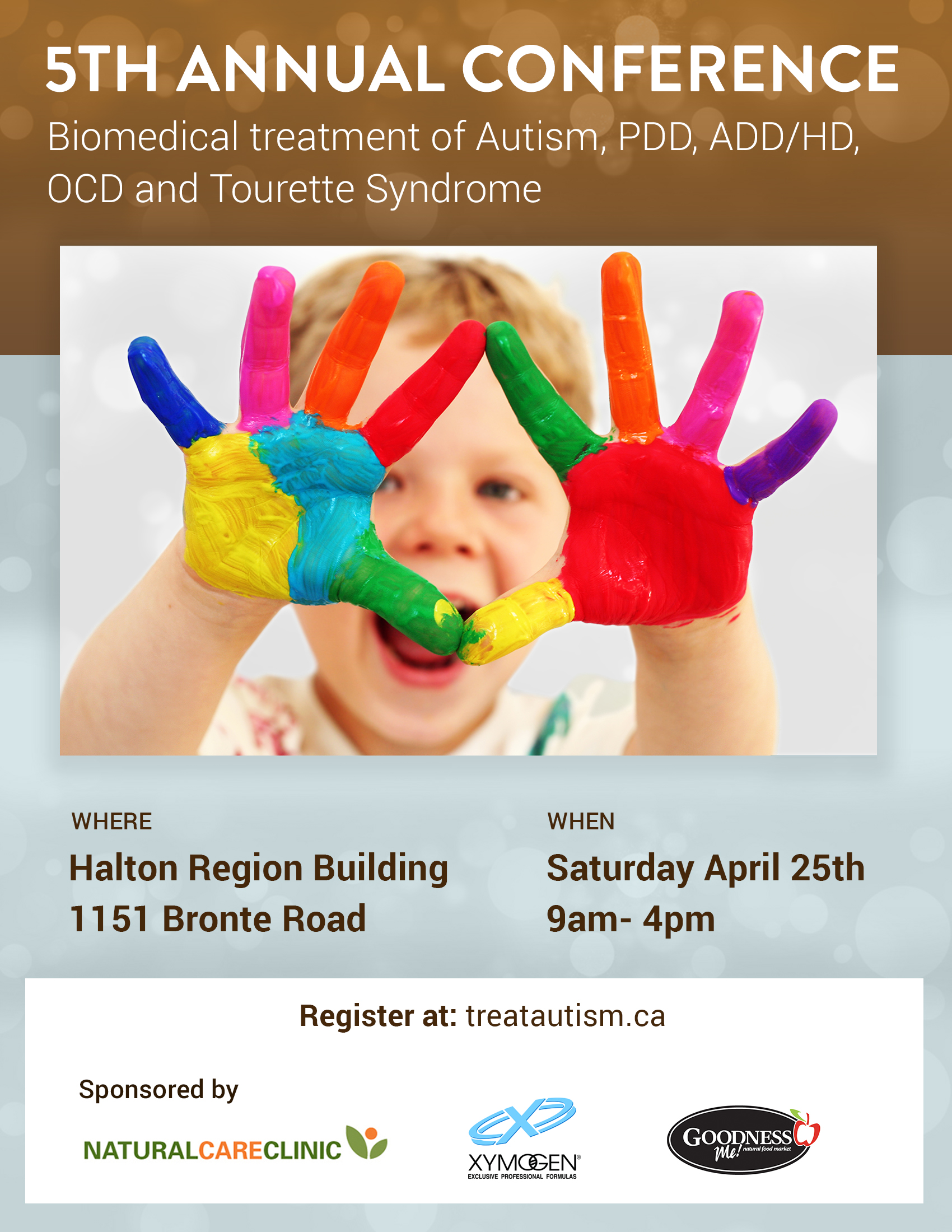 5th Annual Conference - Biomedical Treatment of Autism, PDD, ADD/HD, OCD and Tourette Syndrome