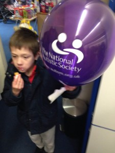Raising Money for the National Autistic Society