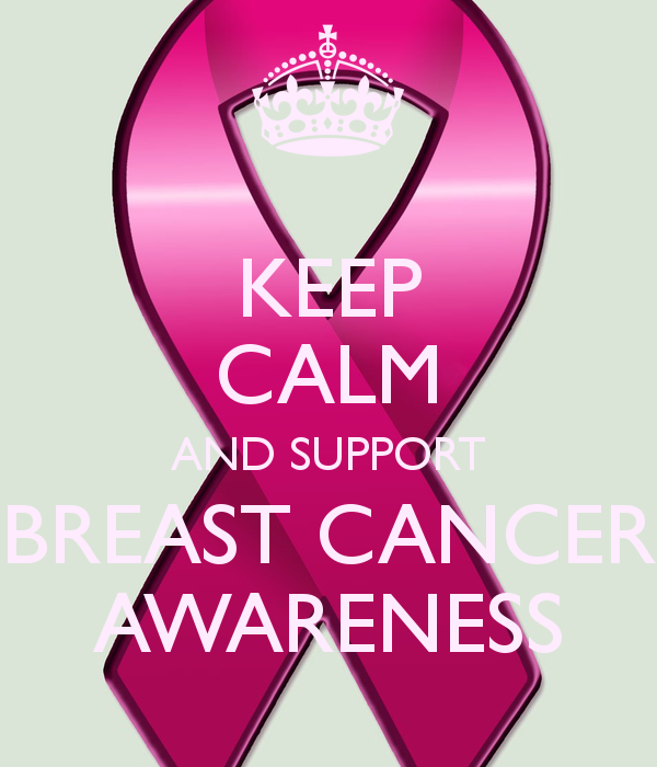 Keep Calm and Support Breast Cancer Awareness