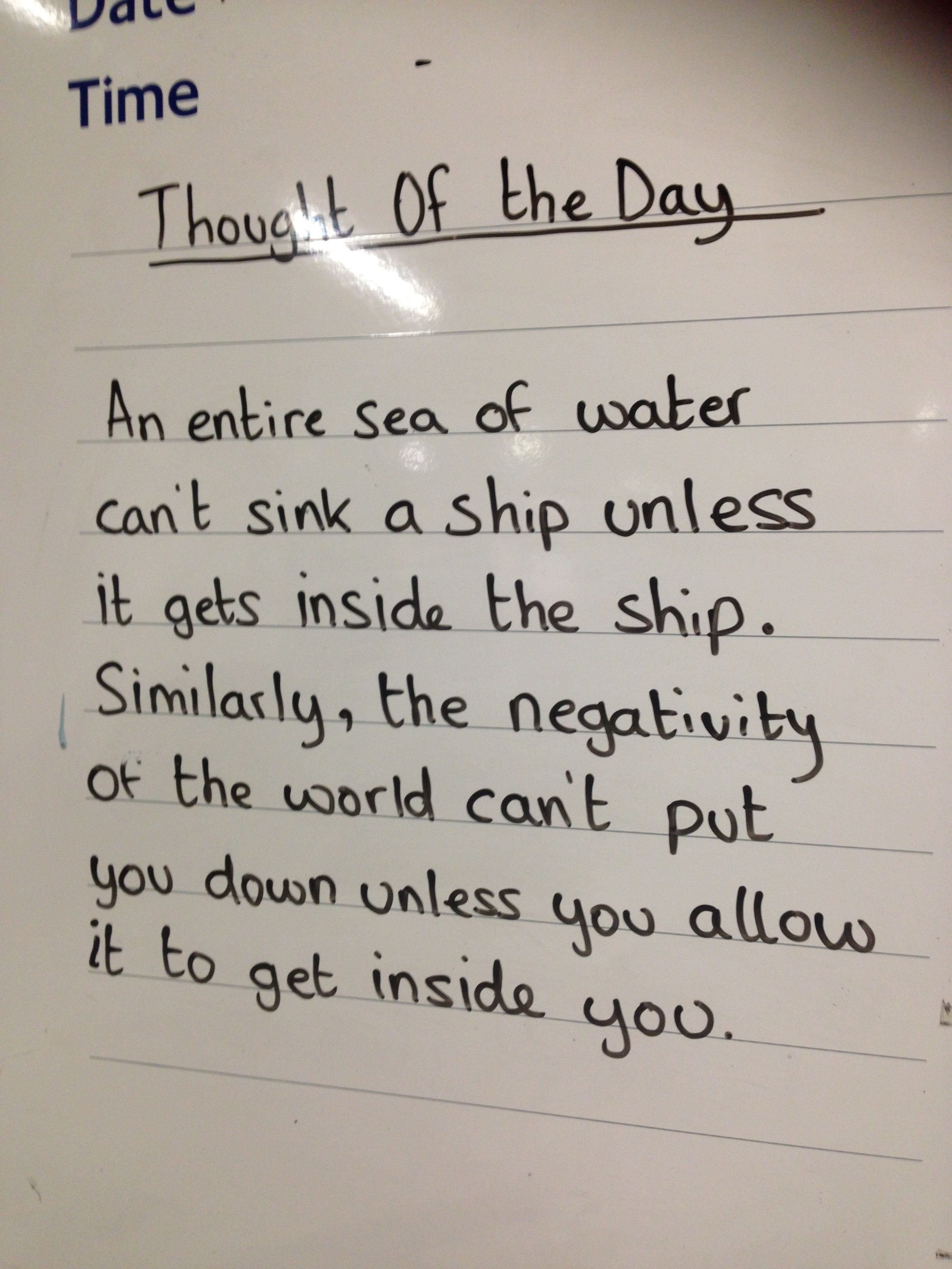 Thought of the Day 3
