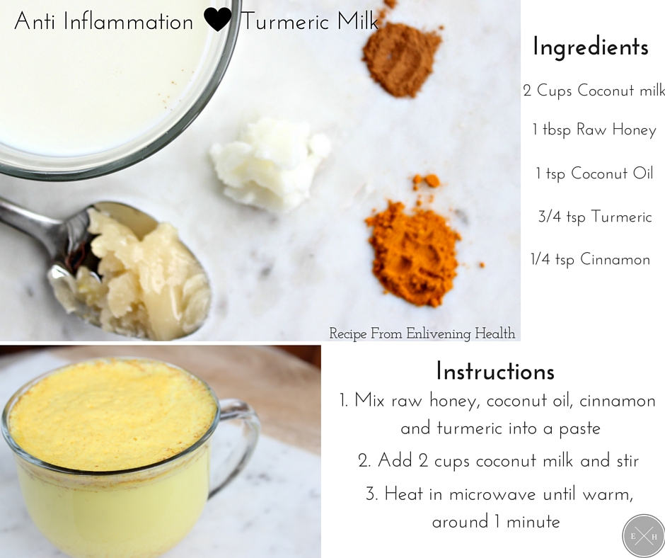 Turmeric Milk - a natural remedy for pain