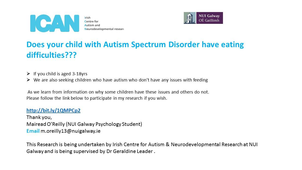 Autism and Feeding Research