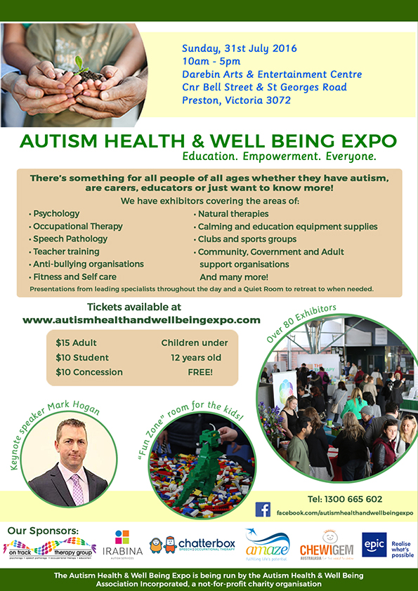 Autism Health & Well Being Expo
