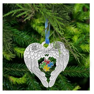 Autism Awareness Christmas Tree Decoration