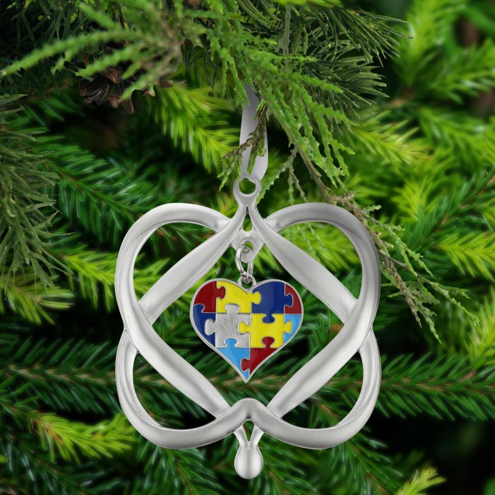 Autism Awareness Christmas Tree Decoration