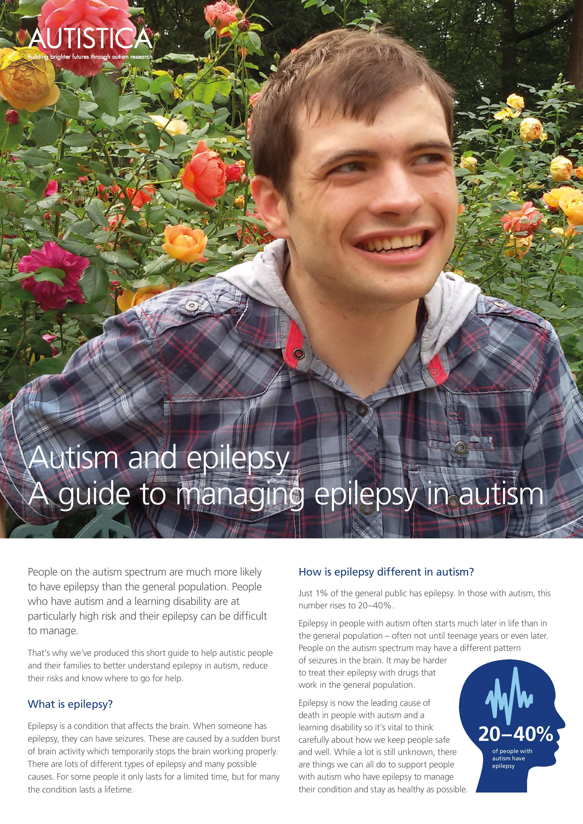 Autism and epilepsy A guide to managing epilepsy in autism