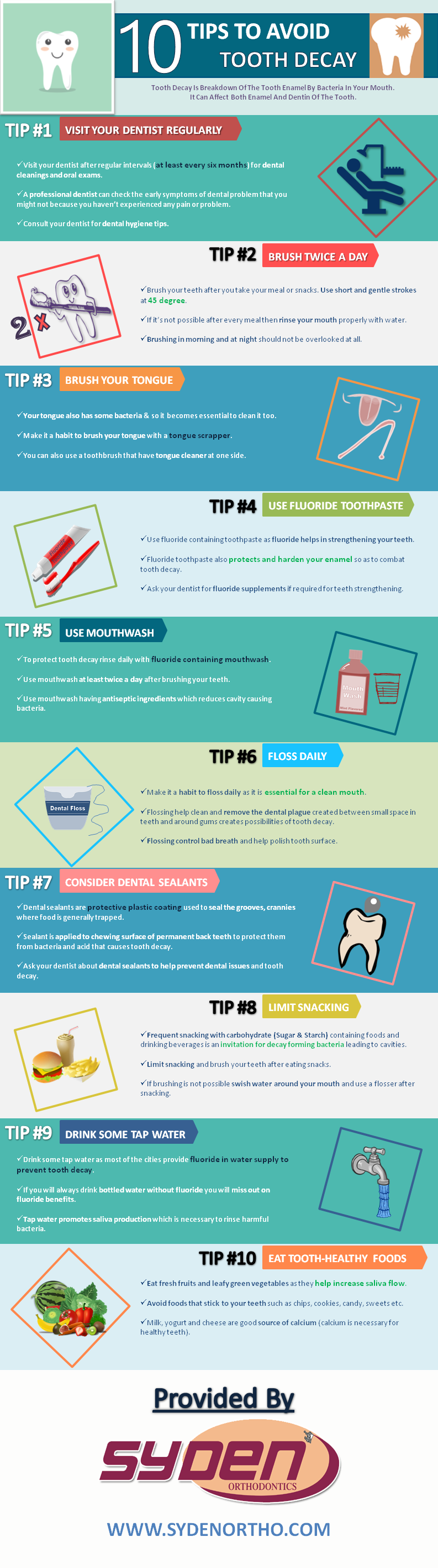 10 TIPS TO AVOID TOOTH DECAY EVERYONE SHOULD KNOW