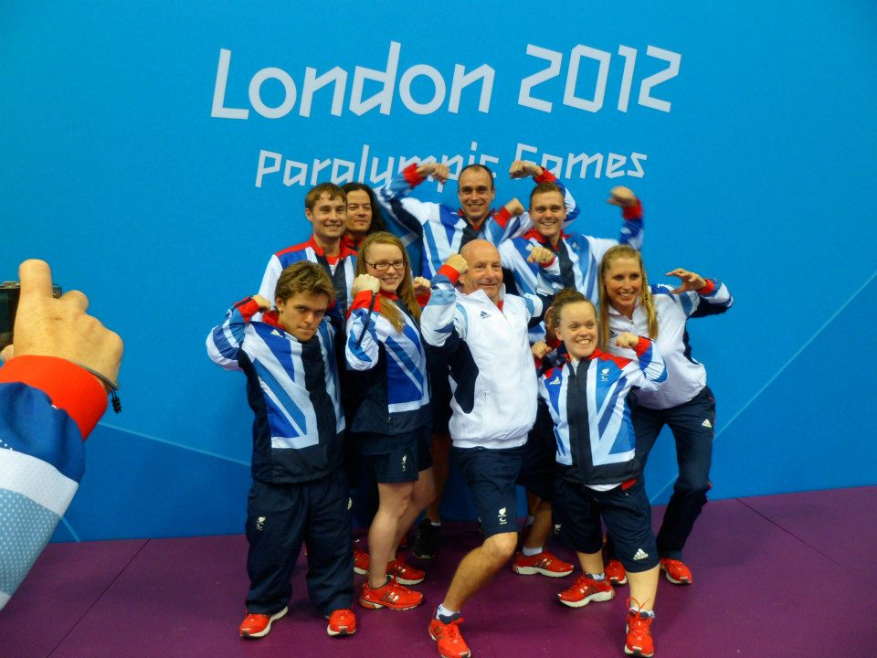 Paralympian Swimmers
