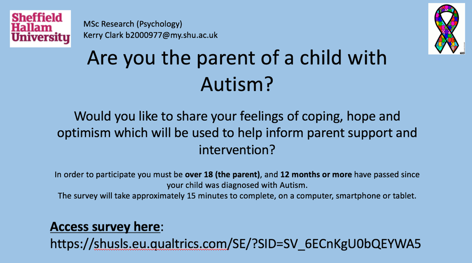 Autism Research Sheffield Hallam