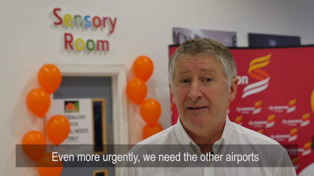 Europe's first airport sensory room at Shannon Airport