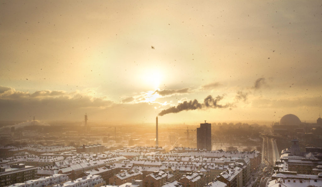Polluted Air is a Possible Cause of Dementia