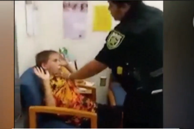 10 year old boy with autism arrested