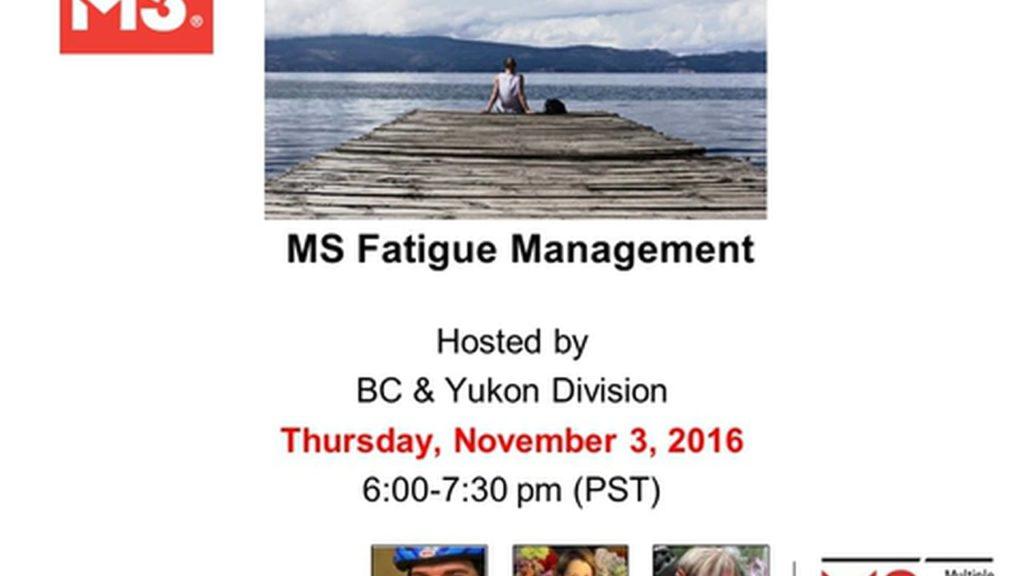 Multiple Sclerosis Fatigue Management