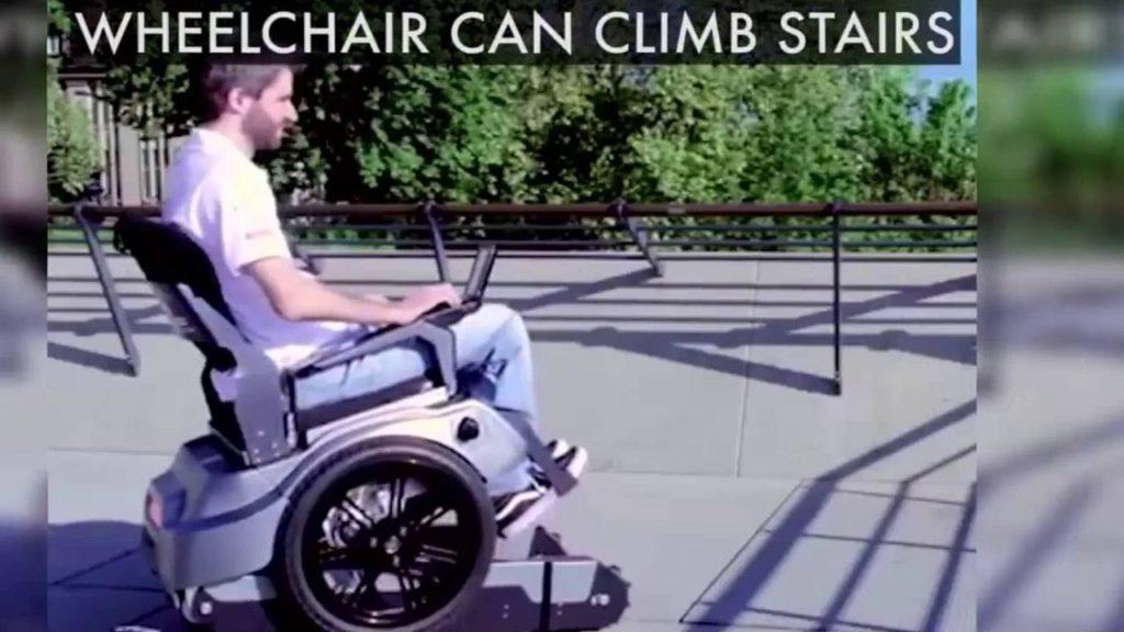 Stair-climbing wheelchair!