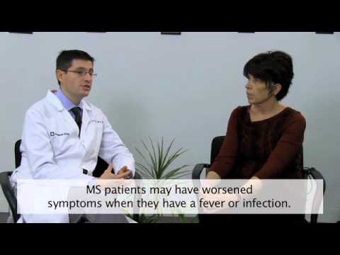 What is a multiple sclerosis relapse?