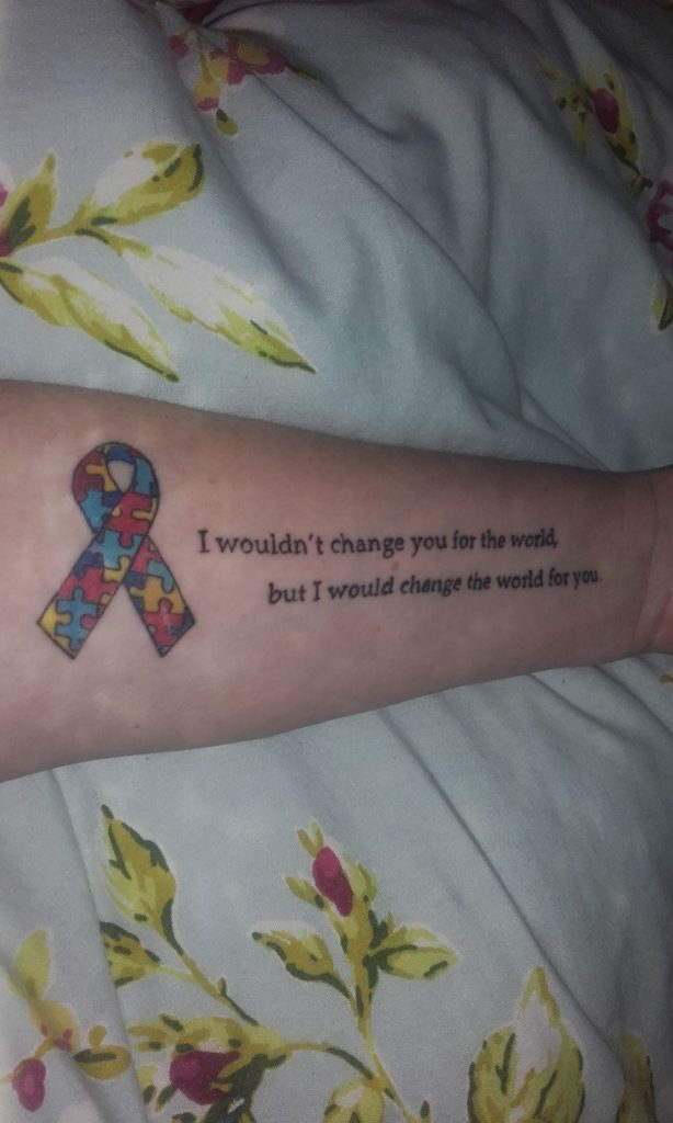Autism Tattoo from Kelly