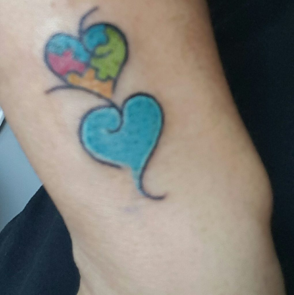 Autism Tattoo from Nancy