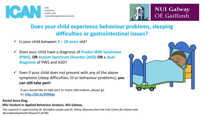 Does your child on the autism spectrum have behavior, sleep or gastrointestinal problems?