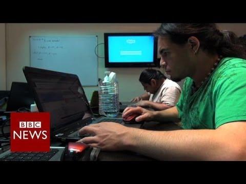 Helping people with autism find jobs in tech - BBC News
