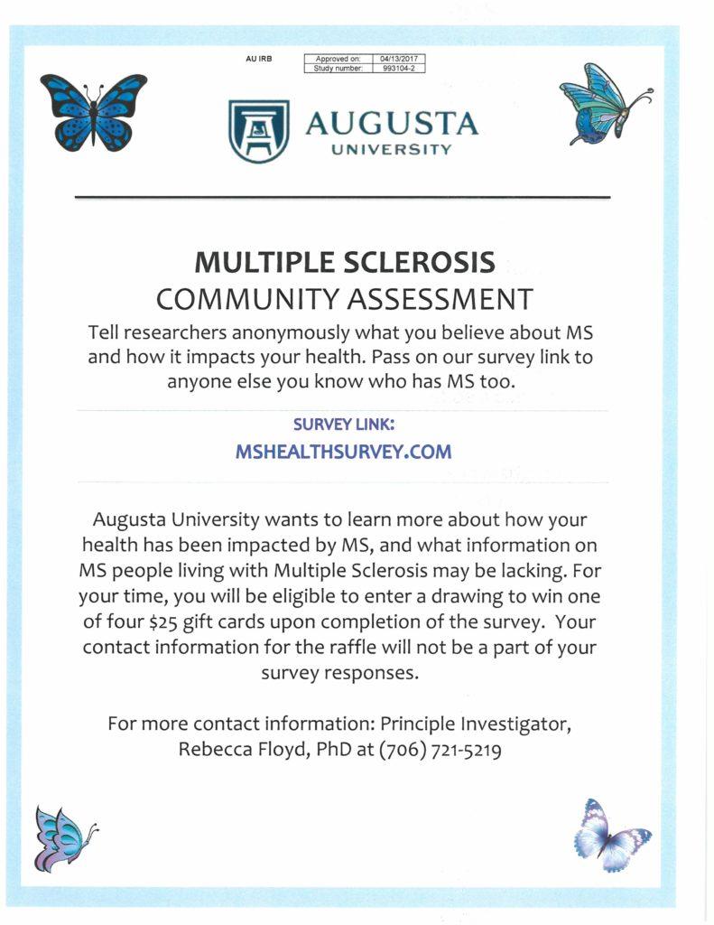 MS Health Survey Flyer