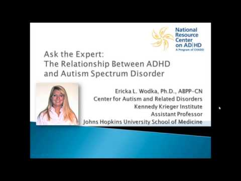 The Relationship Between ADHD and Autism