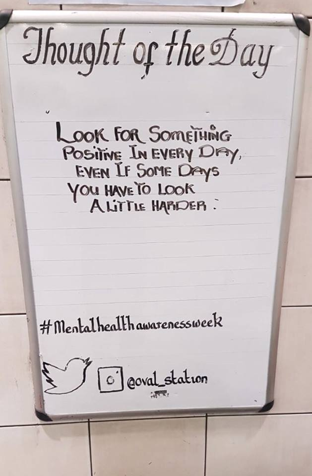 Thought For The Day Mental Health Awareness Week