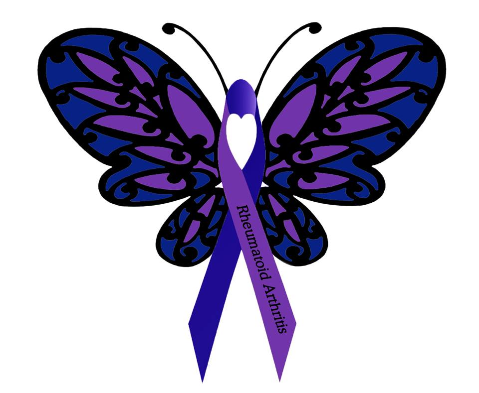 Rheumatoid Arthritis Butterfly Please Like And Share Donnee Spencer S Amazing Rheumatoid Arthritis Awareness Butterfly With Everyone In The Racommunity Patient Talk