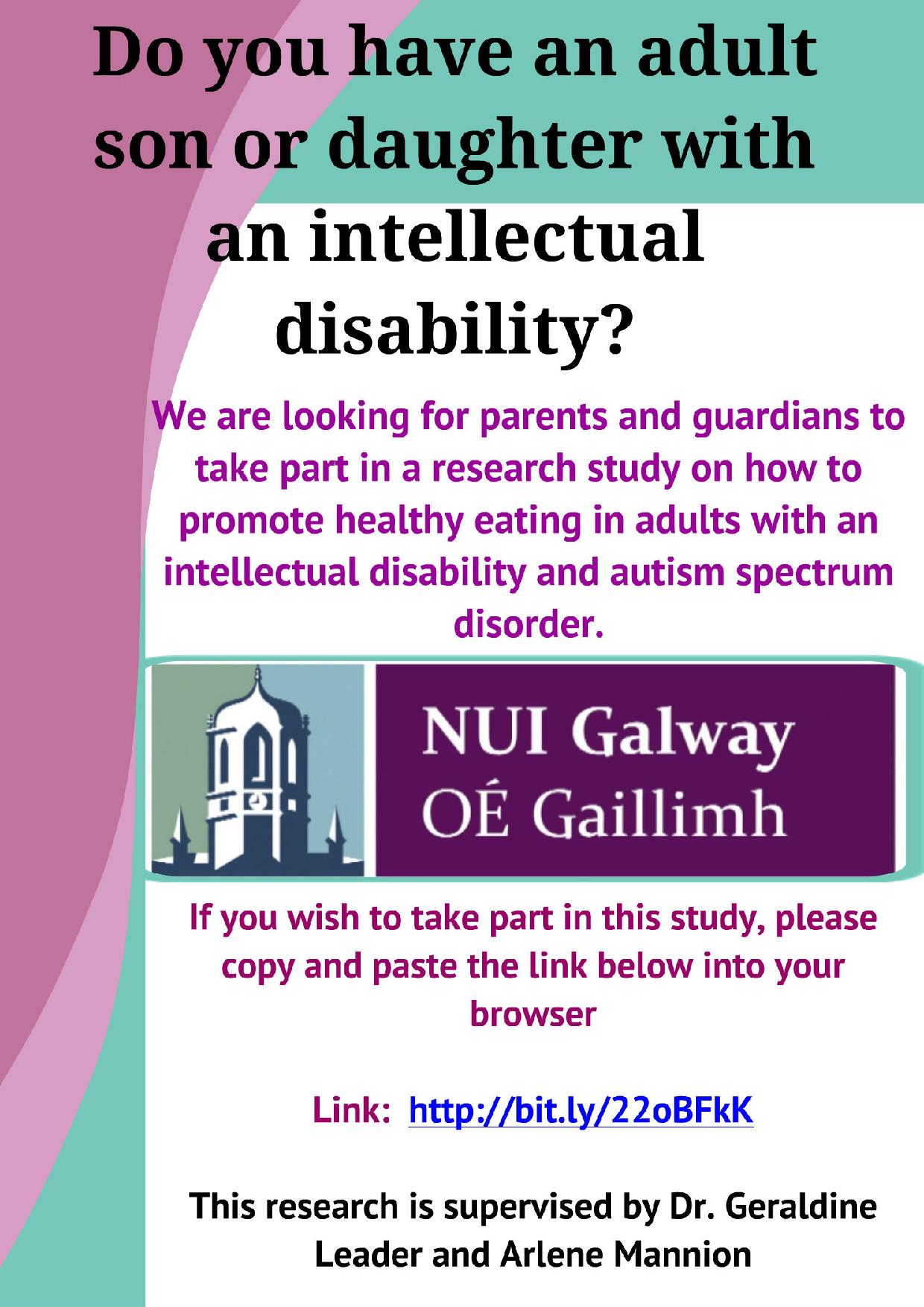 Autism With Intellectual Disability >> Do You Have An Adult Son Or Daughter With An Intellectual Disability